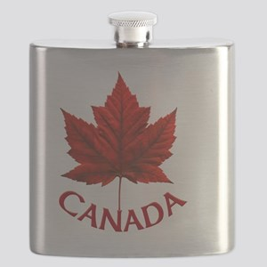Canada Souvenir Gifts Maple Leaf Canada Day Flask