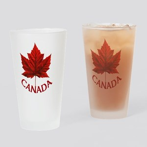 Canada Souvenir Gifts Maple Leaf Ca Drinking Glass