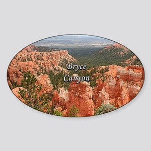 Bryce Canyon, Utah, USA 10 (caption) Sticker