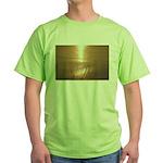 p0012. texturez... Green T-Shirt