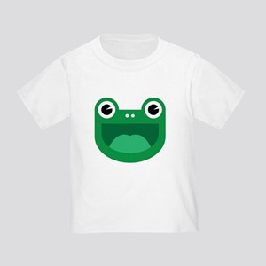 Happy Frog Logo by Don T-Shirt