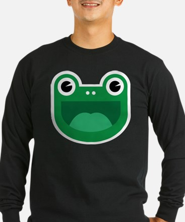 Happy Frog Logo by Don Long Sleeve T-Shirt