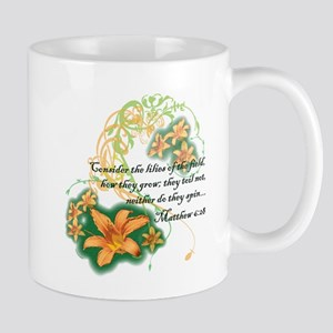 Lilies of the Field Mugs