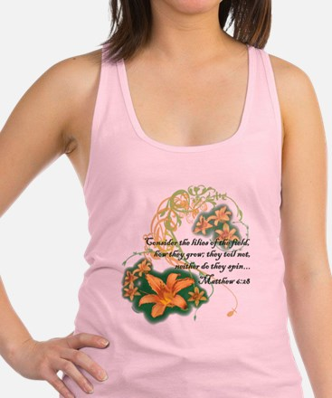 Lilies of the Field Tank Top