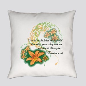 Lilies of the Field Everyday Pillow