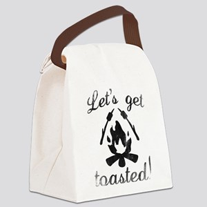 Let's Get Toasted Canvas Lunch Bag