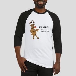 Sexy Reindeer Baseball Jersey