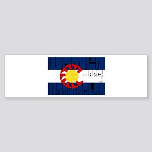 Women's March- Colorado Bumper Sticker