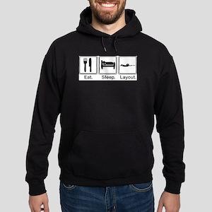 Eat, Sleep, Layout Sweatshirt