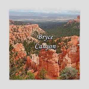 Bryce Canyon, Utah, USA 10 (caption) Queen Duvet