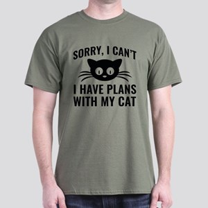 Sorry I Can't Dark T-Shirt