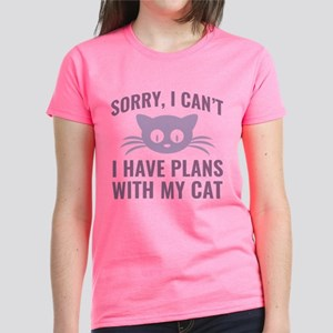 Sorry I Can't Women's Dark T-Shirt