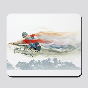 Skater in Motion Mousepad