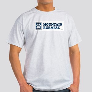 MOUNTAIN BURMESE Light T-Shirt