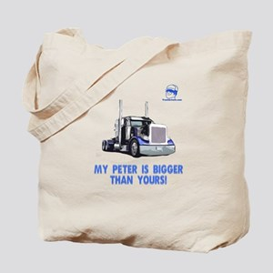 My Peter is bigger than yours Tote Bag