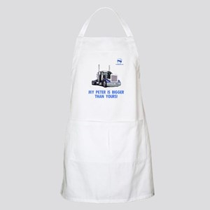 My Peter is bigger than yours BBQ Apron