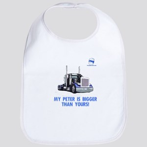 My Peter is bigger than yours Bib