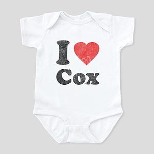 I Love Cox Infant Bodysuit