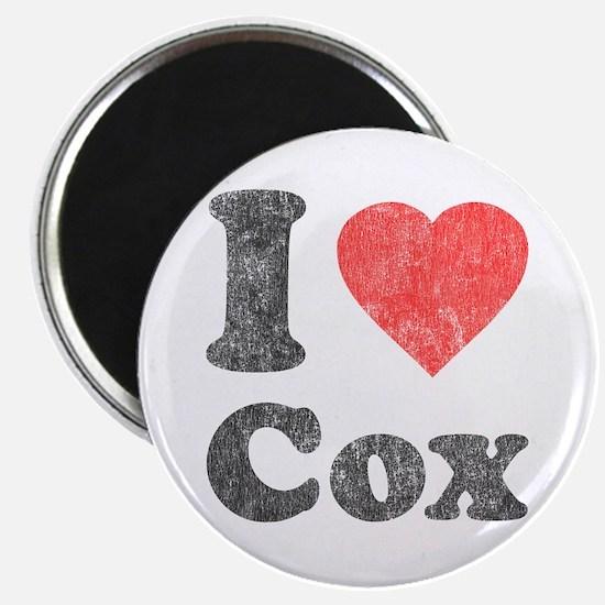 I Love Cox Magnet