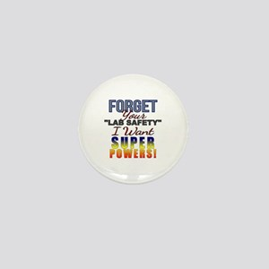 Forget Lab Safety Mini Button