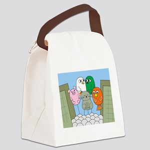 Thanksgiving Parade Canvas Lunch Bag