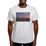 p1665. dusk praire utah.. Ash Grey T-Shirt