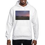 p1665. dusk praire utah.. Hooded Sweatshirt