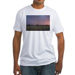 p1665. dusk praire utah.. Fitted T-Shirt