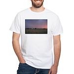 p1665. dusk praire utah.. White T-Shirt