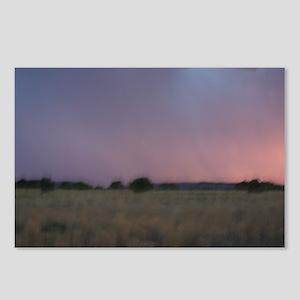 p1665. dusk praire utah.. Postcards (Package of 8
