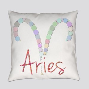 Aries (Zodiac symbol: Ram) (Candie Everyday Pillow