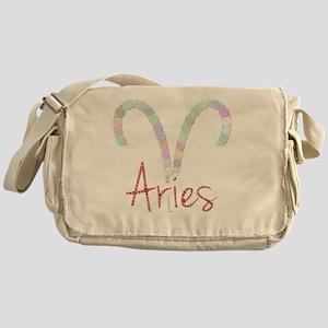 Aries (Zodiac symbol: Ram) (Candies) Messenger Bag