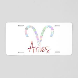 Aries (Zodiac symbol: Ram) Aluminum License Plate