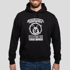 Courage And German Shepherd T Shirt Sweatshirt