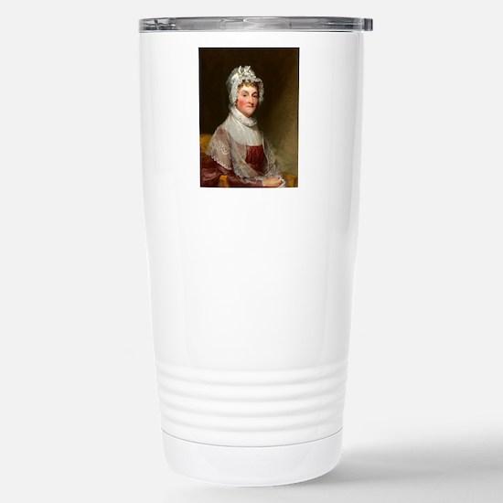 Abigail Smith Adams by Gilbert Stuart Travel Mug