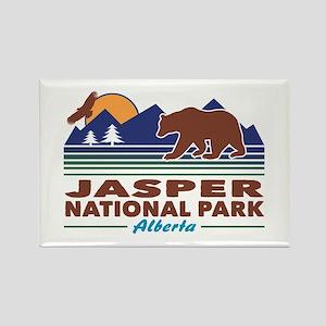 Jasper National Park Rectangle Magnet