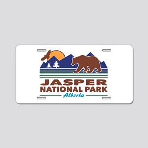 Jasper National Park Aluminum License Plate