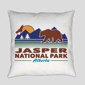 Jasper National Park Everyday Pillow