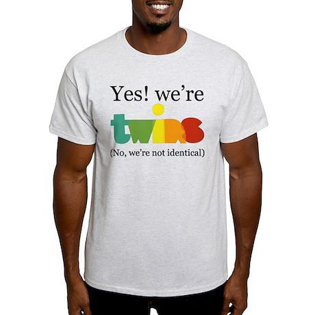 YesWereTwinsFraternal T-Shirt