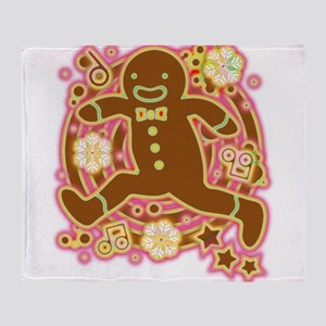 The_Gingerbread_Man Throw Blanket