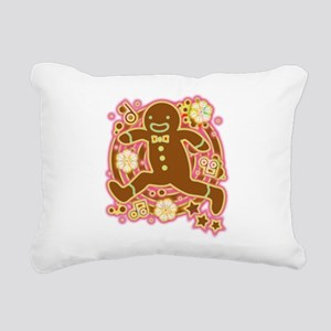The_Gingerbread_Man Rectangular Canvas Pillow