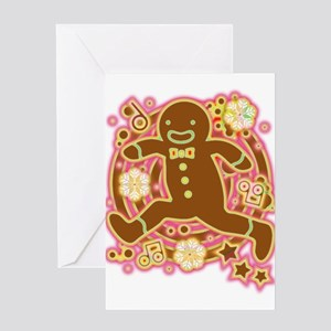The_Gingerbread_Man Greeting Cards
