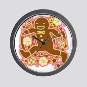 The_Gingerbread_Man Wall Clock