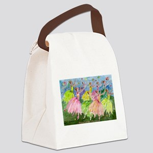 flowerdance1. Canvas Lunch Bag