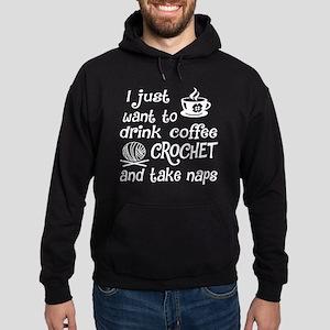 Coffee Crochet And Take Nap T Shirt Sweatshirt