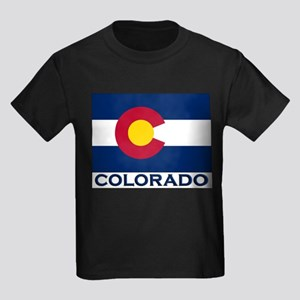 Colorado Flag Merchandise Ash Grey T-Shirt