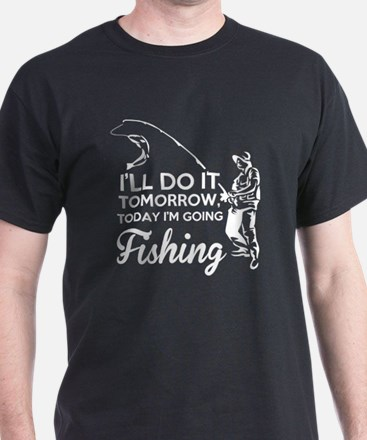 Fishing Addict T Shirt T-Shirt