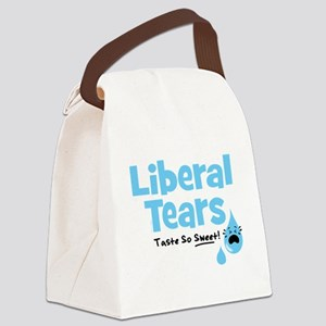 Liberal Tears Canvas Lunch Bag