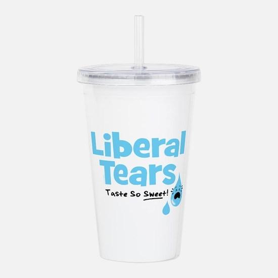 Liberal Tears Acrylic Double-wall Tumbler