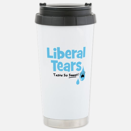 Liberal Tears Stainless Steel Travel Mug